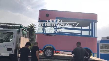 惠福莱流动电动餐车价钱多少