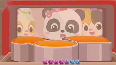 宝宝巴士:百变奇妙甜点师,小吃货跟着老师学做蛋糕.