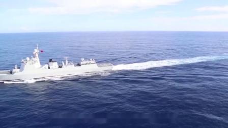加长版052D驱逐舰服役首次亮相!直升机甲板更大,专为海直20打造