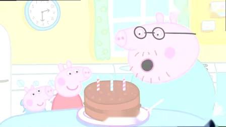小猪佩奇:猪妈妈的生日蛋糕做好了,接下来还有什么活动?.mp4