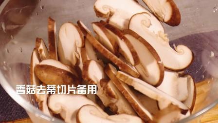 一道简单的家常菜,干煸花菜香菇