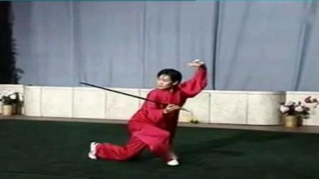 苏韧峰武当49式太极剑背面 慢动作