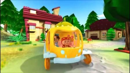 猪猪侠:猪猪侠拼出一辆南瓜马车,这也太漂亮了吧