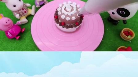 宝宝巴士:玩具#蛋糕妙妙的生日会,快来和奇奇一起学做蛋糕吧