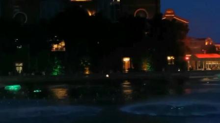 水上灯光秀