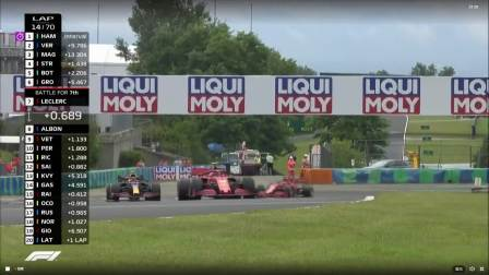 F1匈牙利大奖赛正赛