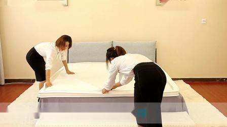 MISSMOON思月·魔块生态科技床垫安装教程