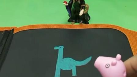 巫婆有个神奇的画绘本,乔治画冰淇淋变真的了,乔治想要小恐龙,大家想要什么?