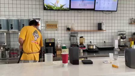 百色奶茶培训-茶九度奶茶饮品学校