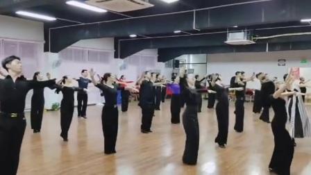 集体练习交谊舞中三