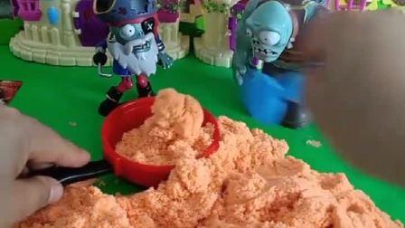 僵尸变好啦,不做坏事啦,佩奇要给好僵尸送点吃的去