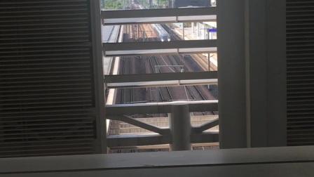 杭州南站 G1305次通过杭长场2道,去杭南杭长所方向,广铁CR400AF-A达速通过