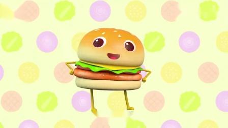 宝宝巴士:大汉堡做好了,乐乐想要杯子蛋糕,一看就很美味呀