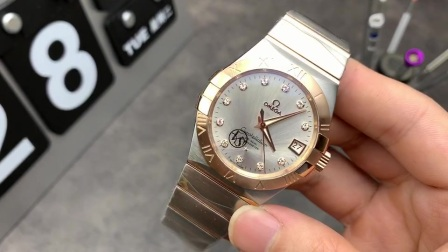 飞扬腕表:VS厂欧米茄星座系列男款机械表,8500同轴机芯