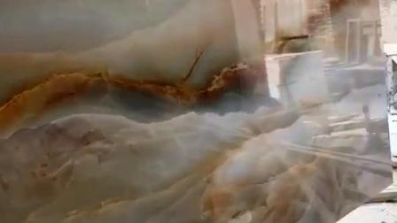 什么机器竟然还能做出这么漂亮的渗墨大板→渗墨设备,岗石印花机