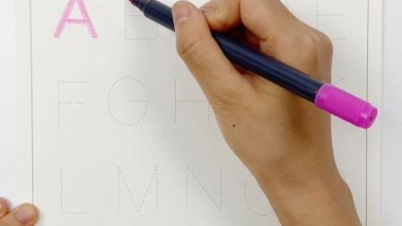控笔训练系列:第二节 字母/数字练习