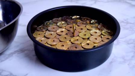 创意定格烹饪,用硬币做成小蛋糕,真是脑洞大开!