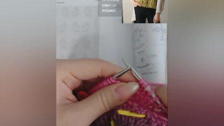 斗篷式毛衣---喷毛纱款1