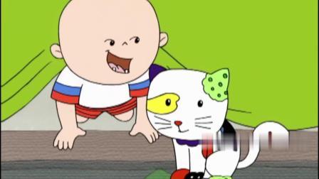 大耳朵图图:小宝宝挺戏精啊,直接扔锅给图图,人家很冤的!