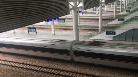 杭州南站 G1352次红复兴怒跨杭长场3道