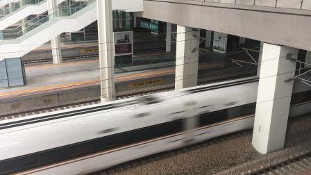 杭州南站 G99次黄复兴怒跨杭长场2道