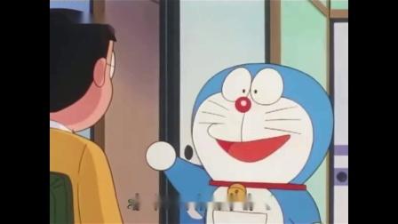 """哆啦A梦:大雄用哆啦a梦的道具""""诚实嘴"""",轻松找到了妈妈藏起来的铜锣烧!"""