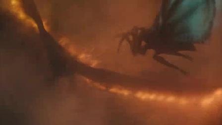 我在哥斯拉2:怪兽之王截了一段小视频
