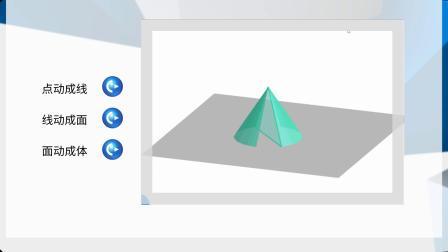 【网络教学课件制作】初中数学《空间与图形》点线面体