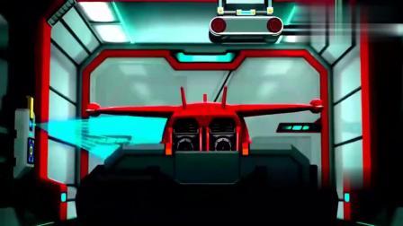 超级飞侠:乐迪喷射燃气,从发射仓射出,冲向天空太炫酷了!