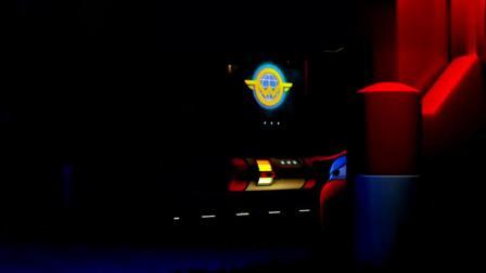 超级飞侠:乐迪听到奇怪声音,醒来看到怪兽影子,可真是吓坏乐迪!