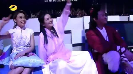 刘恺威模仿刘德华唱歌,动作跟声音都好像啊!