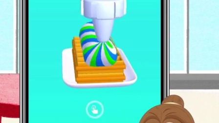 贝儿给白雪做的蛋糕,也太惊喜了吧!