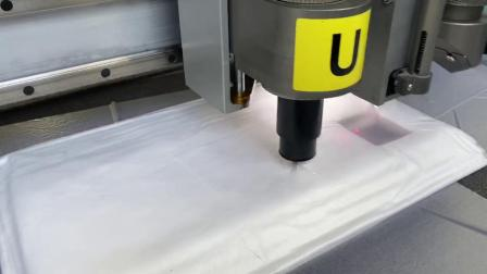 服装布料工作服职业服多层裁床飞科智能全自动化裁床橡胶裁剪机