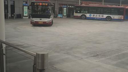【Richard】带你逛一圈淄博公交东站~(站台)