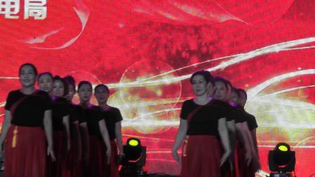 白云鄂博矿区铁花民族艺术团参加包头市第三届广场舞大赛《中华世界一家人》