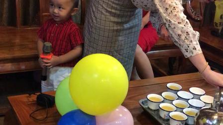 李宝宝二周岁生日快乐!