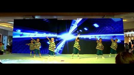郑州儿童舞蹈培训班哪里好 中原区碧沙岗少儿舞蹈学校演出 幼儿班阳光彩虹小白马