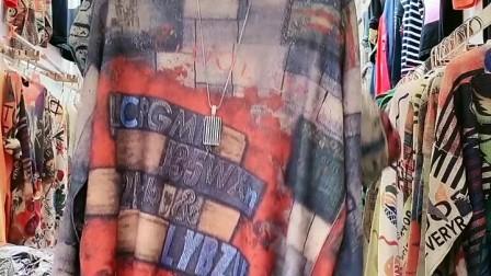 《Ⅹ-491期》时尚欧货/重工 亚麻三D印花,特价55¥, 20件一份1100元