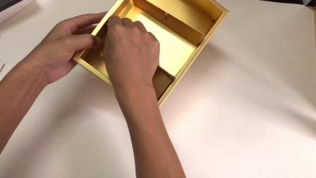 月饼-蛋黄酥礼盒折叠视频