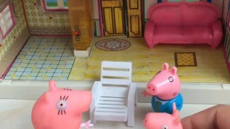 猪妈妈给佩奇买了新鞋子,乔治也想要新鞋子!