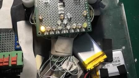 {定制开发}转向灯引脚可外接模块的车模型控制模块