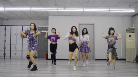 翻跳宣美新歌《紫光夜》,暑期集训班六节课一支舞成品展示!天津舞蹈工作室,零基础学舞蹈!