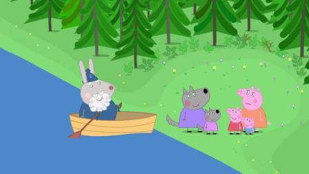 小猪佩奇:鸭太太真贴心,吃光了猪爸的食物,特意给他送来虫子吃!