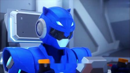 迷你特工队:水龙头机械怪喷射毒液,特工们全力对付机械怪