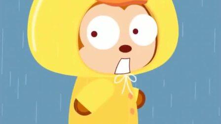 猫小帅-穿上雨衣,我也是小鸭子啦