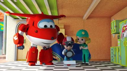 超级飞侠:小男孩的热狗车,香肠蔬菜和面包,看着我就特别饿