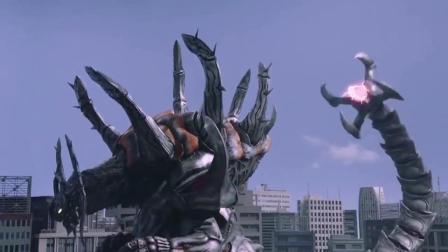 奥特曼:欧布吸取了世界树的种子,怪兽想要阻止,被戴拿一招断了尾