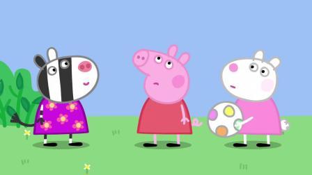 小猪佩奇:佩奇不能说话,看到苏怡只能咧嘴傻笑,真是太可爱了!