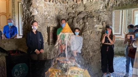 【慢游欧洲日记】海尔布伦宫王冠洞穴