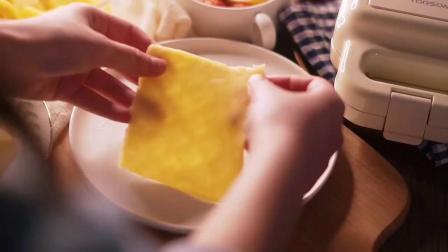 今天这个特别版的芒果千层蛋糕和肉夹馍 请查收呀~#美食趣胃计划